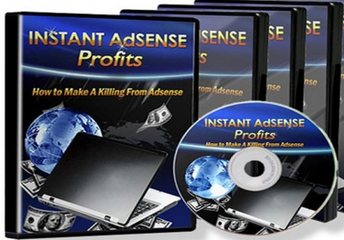 Give You Video Course How to Make Instant ADSENSE Profits