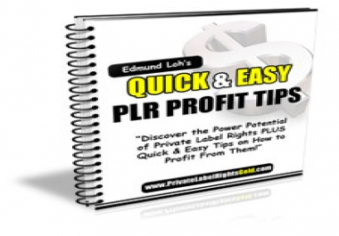 give you a report on how to make easy cash with other people's products