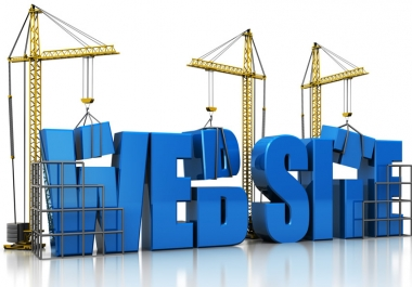 create any kinds of website for you