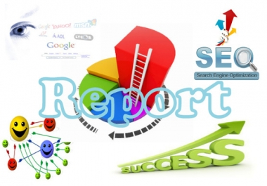 create A Detailed SEO Report Of Your Website,keyword