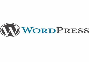 install manually a wordpress blog for you