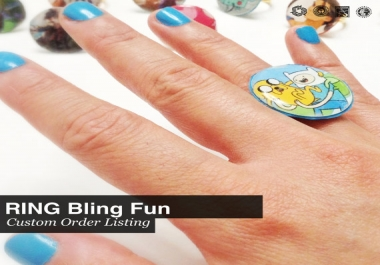 create a ring of your design choice