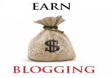 I will Create your blog and link it to Google analytic and create a sitemap to it in webmaster tool.