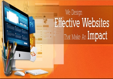design html5 mobile optimized website for your business or company which also well seo optimized