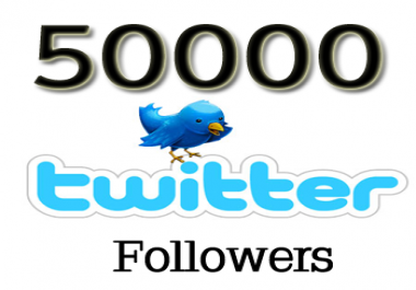 ADD 65,000 + High Quality Twitter Follower to your Profile