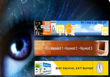 make awesome flash banners for your blog or web site