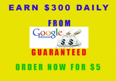 Give  You My Super $300 Adsense profits Guide
