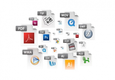 convert your Microsoft Word, Excel, Powerpoint or image files to PDF
