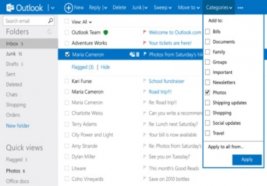 link your domain with Microsoft outlook email hosting services