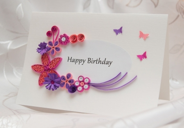 do any  handmade card for any occasion to your loved ones