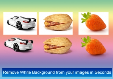 remove BACKGROUND of any 10 images with in 24hrs