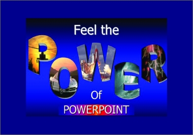 do any Power Point Presentations for any topic