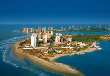 take pictures of my city in Brazil with your picture, your name or name of your company in the picture