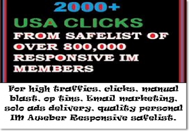 promote and deliver your solo ads and any offer to my 1 million members