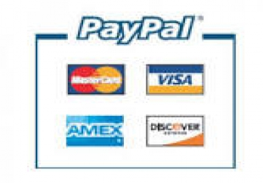 create buynow or donate button on your website, to recieve payment in your paypal account