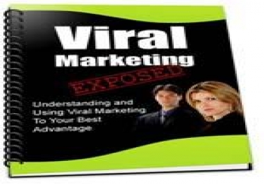 give you Viral Marketing Exposed PLR Article