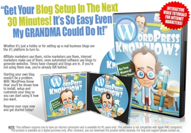 give Wordpress knowhow Video Course