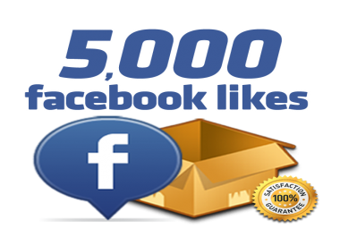 Give you 5,000 Real Active People Facebook Likes