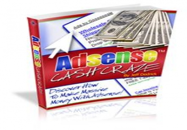 give you AdSense Cash Craze +MRR