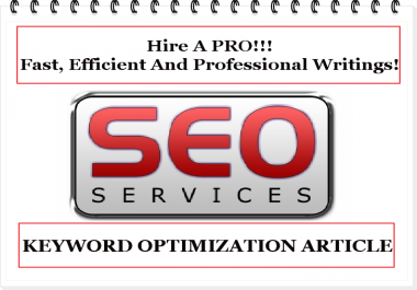 Write 500 Unique Content And SEO Article