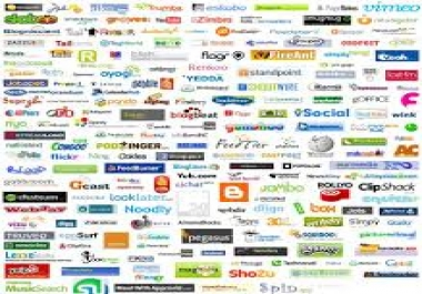 MANUALLY Bookmark your website to TOP 15 Social bookmarking sites