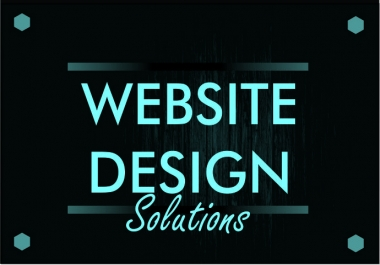 design a website for business and personal