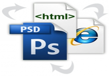 do a PSD to HTML
