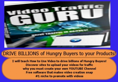 teach you how to drive Billions of hungry buyers to your Product