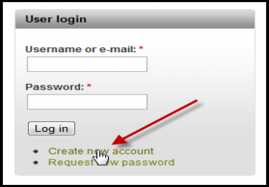 create a simple user login & registration system on your website