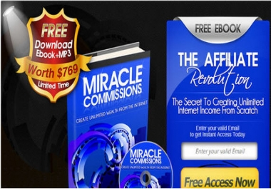 give attention grabber lead generation squeeze page