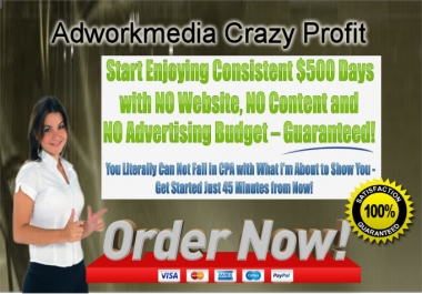 tell How to get Leads Crazy Profit Adworkmedia CPA