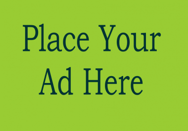 place your banner to 25 (pr1) website for 6 month