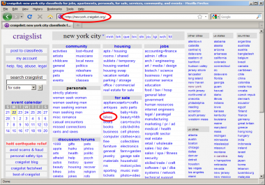 create ad with images and text on craigslist