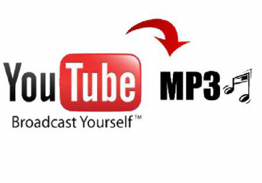 Give you the high quality audio to a youtube video of your choice