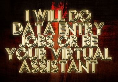 Do any Data Entry jobs or Keyword Research