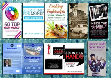make you any type of book cover