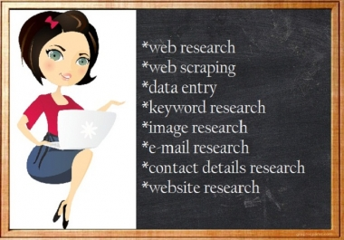 do any web research or scraping on any topic