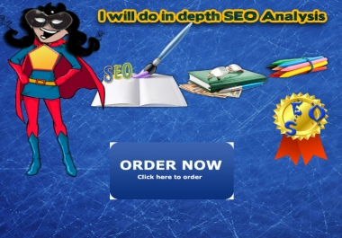 do in depth SEO Analysis to see why rankings dropped,showing website problems