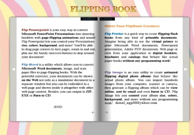 Convert PDF or Word To Flip Book