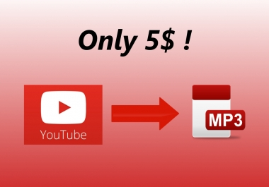 convert any youtube video to mp3