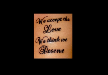 give you 10 awesome quotes for your new tattoo