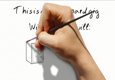 provide a PROFESSIONAL WHITEBOARD WORK for you