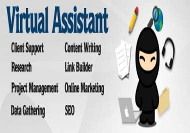 work as your virtual assistant