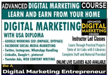provide complete affiliate marketing and digital marketing courses