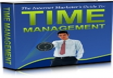 show you how to organize and manage your time