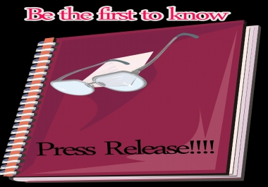 write Press Release for any business and submit it to ten high PR site