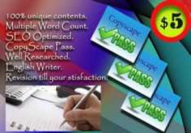 write 2 article each 400 words