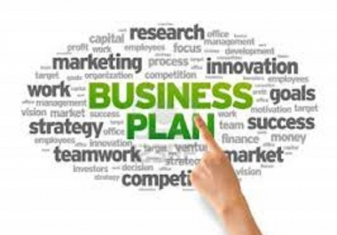 write a business plan for your start-up business