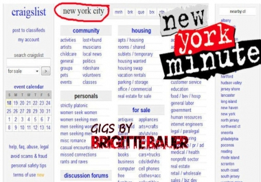 post your ad with my New York City verified Craigslist Account in Any Category