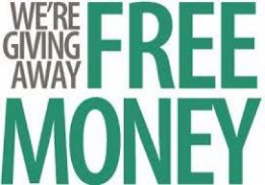 show you how to raise FREE MONEY $50 to $100 dollars per hour